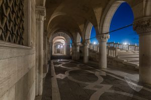 Walkway in front of the Doges Palace