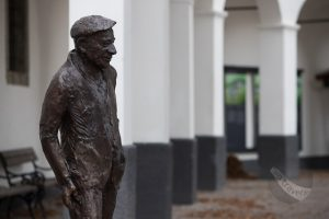 Statue of Dr Cene Avguštin