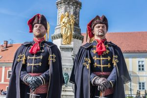 Changing of the Guard in Zagreb