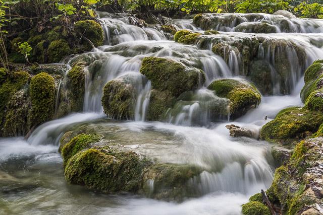 Plitvice Lakes Lower Lakes cascades