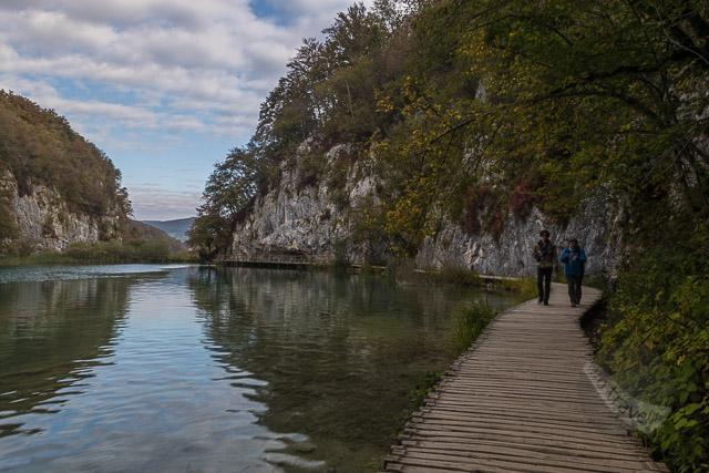 Lower Plitvice Lakes walkway