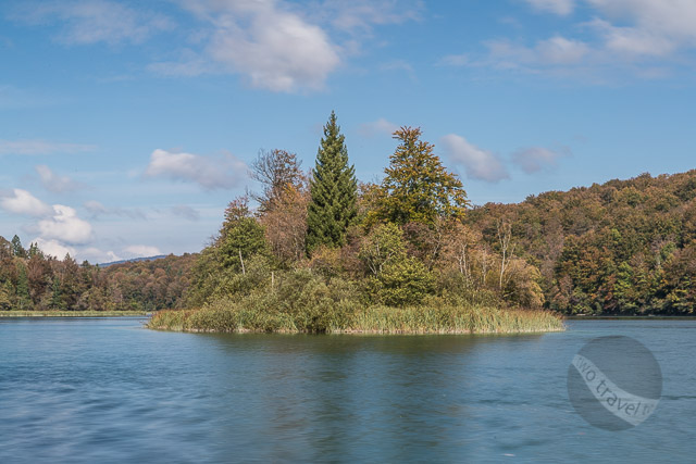 Plitvice Lakes Islet