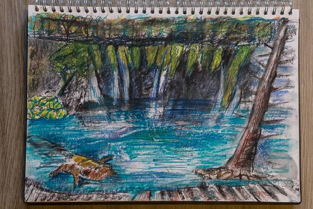 Falls at Plitvice National Lakes