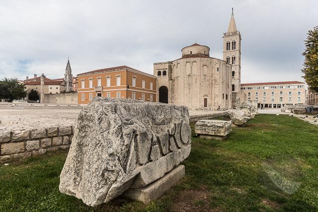 Roman Forum at Zadar