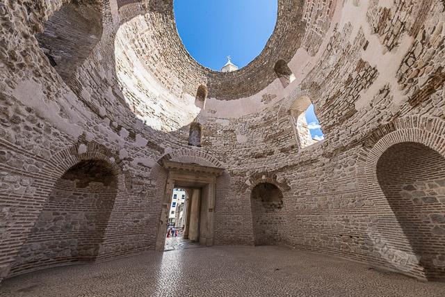 Diocletian Palace Vestibule Entrance