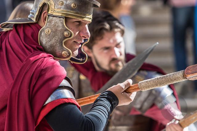 Roman Guards at Peristyle, Split