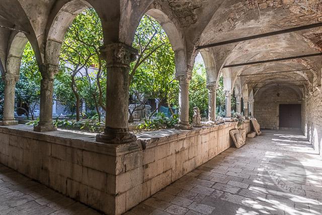 St Dominic Monastery Cloisters, Trogir