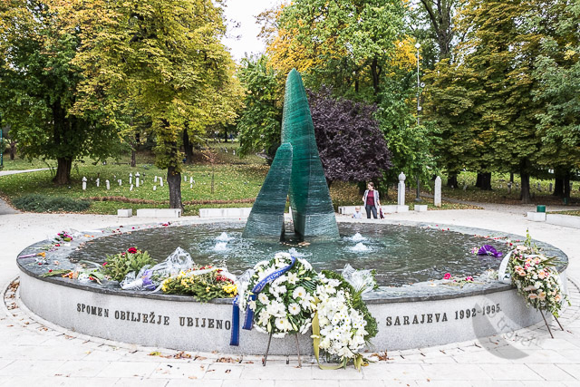 Monument to Children Lost in War, Sarajevo