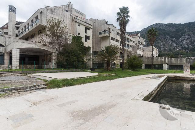 Derelict Hotel Fjord, Kotor